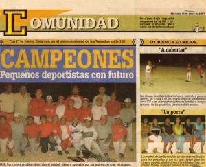 2007 enero 10 VENADOS FAMOSOSS