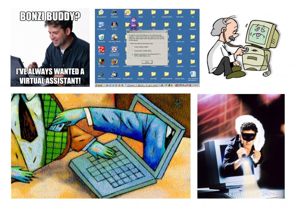 efectos spyware